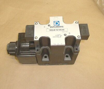 NEW Duplomatic DS5JB-TA/10N-K6 Solenoid Operated Directional Control Valve