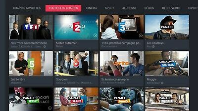 Compte MYCANAL  (INTEGRALE) avec BEIN SPORTS + CANALSAT + CANAL+CANAL PLAY