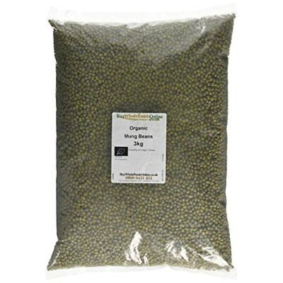 Buy Whole Foods Organic Mung Beans 3 Kg