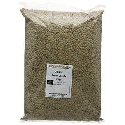 Buy Whole Foods Organic Green Lentils 3 Kg