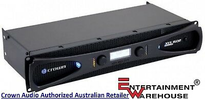 Crown XLS1502 Dual Channel, Digital Audio, Power Amplifier with DSP