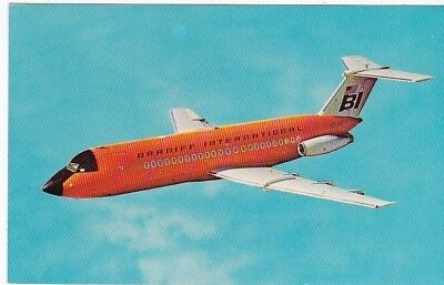 Braniff International Airlines Vintage Unused Postcard