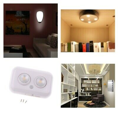 PIR Motion Activated Cordless Sensor LED Light Indoor/Outdoor Cabinet Stairway