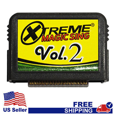 """MAGIC SING Chip """"Tagalog Xtreme Collection v.2""""  Tagalog Song Chip w/ SONG LIST"""