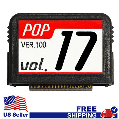 """MAGIC SING Chip """"POP v.17"""" - POP New Release Song Chip w/SONG LIST"""
