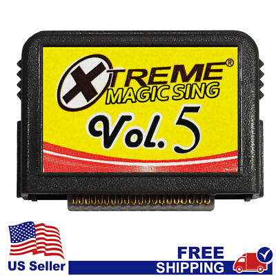 """MAGIC SING Chip """"Tagalog Xtreme Collection v.5""""  Tagalog Song Chip w/ SONG LIST"""