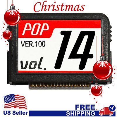 """MAGIC SING Chip """"POP v.14"""" - POP Christmas Song Chip w/SONG LIST"""