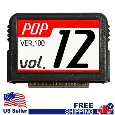 "MAGIC SING Chip ""POP v.12""  - POP New Release, Latin Song Chip w/SONG LIST"