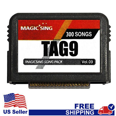 "MAGIC SING Chip ""Tagalog 9""  - Tagalog & English Song Chip w/ SONG LIST"