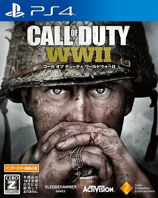 NEW Call of Duty: WWII World War 2 (Sony PlayStation 4, 2017) Japanese Version