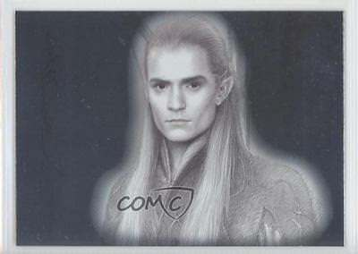 2006 Topps Lord of the Rings Masterpieces Art Cards #2 Legolas Card 0p3