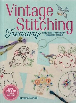 Vintage Stitching Treasury - more than 400 authentic embroidery designs - BOOK