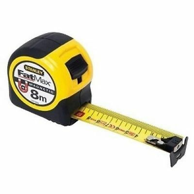 STANLEY FATMAX TAPE MEASURE MAGNETIC 8M X 32MM FMHT0-33868_nV