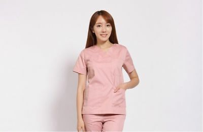 SEKYEONG Operating Gown Nursing Wear Hospital Pink Up-and-Down Woman Clothes_nV