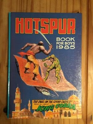Hotspur Book for Boys 1985 (Annual) (Hardcover) Book , Clipped ,  Good
