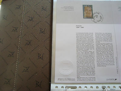FRANCE - document 1st day 17/9/1994 (coluche) french
