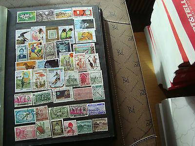 ASIE - 42 stamps canceled (all state) stamp