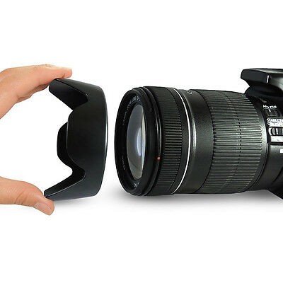 EW-73B Camera Lens Hood for 67MM Canon EF-S 18-135mm F3.5-5.6 IS w/ P0W9