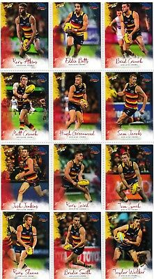 2018 Afl Select Footy Stars Adelaide Crows Common Team Set All 12 Cards