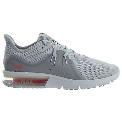 ef087be0fa Nike Air Max Sequent 3 Womens 908993-012 Platinum Knit Running Shoes Size  9.5