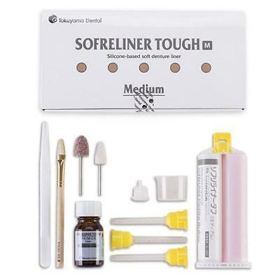 Tokuyama 23351 Sofreliner Tough Medium Kit Silicone Denture Relining Material
