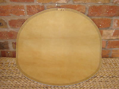 "24"" Industrial Round Metal Workers Panel Beaters Leather Sandbag"