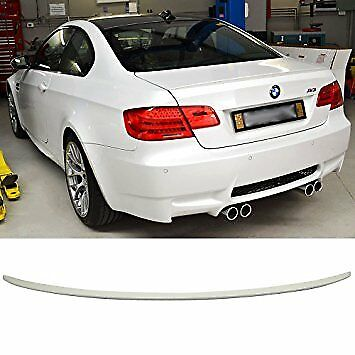 Bmw 3 Series E92 Coupe Abs Plastic 05-13 Rear Boot Lip Spoiler M3 Style Ome Fit