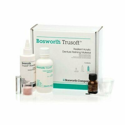 Bosworth 921250 Trusoft Acrylic Denture Relining Material Standard Pack