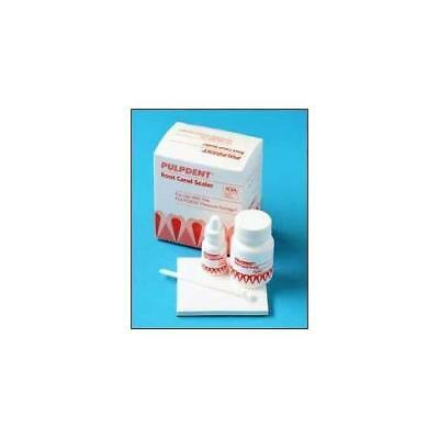 Pulpdent RK Root Canal Dental Sealer Complete Package Power Liquid Pads & Scoop