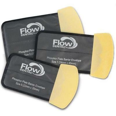 Flow X-Ray Dental 80101 Safe 'n' Sure Phosphor Plate Barrier Envelopes #0 300/Pk