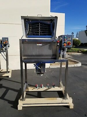 2.5 Cubic ft. Stainless Steel Ribbon Blender Mixer (In Stock Ready to Ship!) 2CF