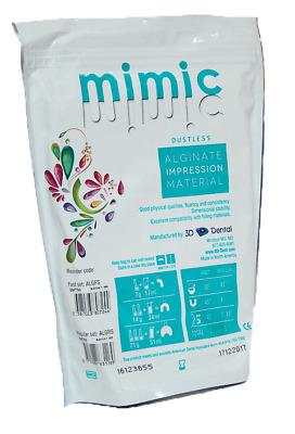 House Brand IM750 Mimic Dustless Alginate Impression Material Fast Set 1 Lb