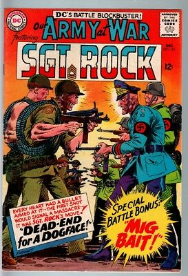 Our Army At War #161 1965-Dc War Comic-Sgt. Rock-Fn+ Fn+