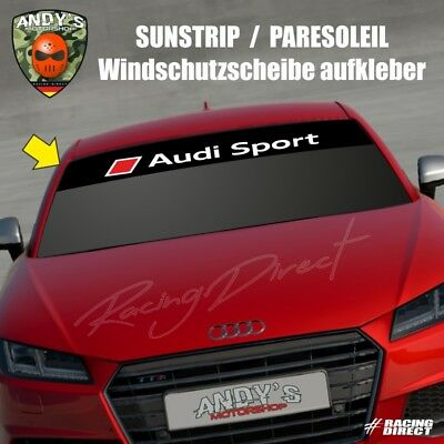 881 windschutzscheibe aufkleber audi sport 2018 logo decal. Black Bedroom Furniture Sets. Home Design Ideas