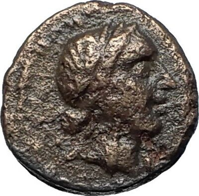 ANTIOCHOS III the GREAT - Rare R1 Ancient Greek SELEUKID Coin ELEPHANT i68378