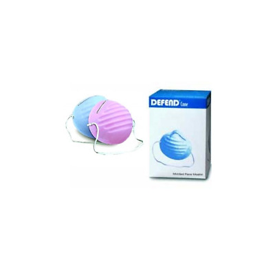 Mydent International (Defend) MK1007 Defend Cone Mask 50/Bx Blue