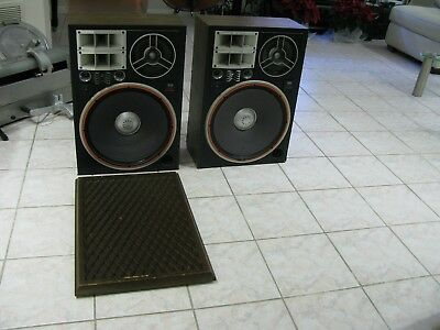 Pair Vintage Sansui SP-X9900 Floor Speakers