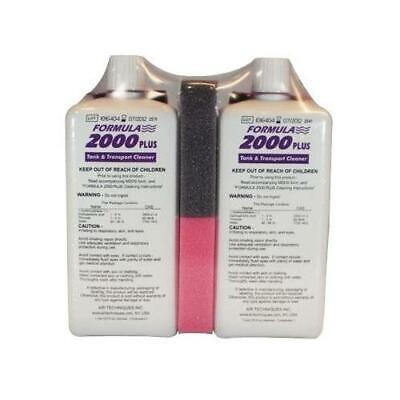 Air Techniques 43945 Formula 2000 Plus X-Ray Processor Cleaner 1 Liter 2/Pk