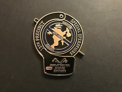 Nypd 13Th Pct Special Opps Gold Cuff Challenge Coin