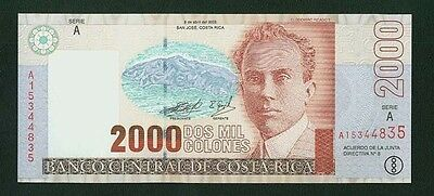 Costa Rica 1997  2,000 Colones  Banknotes  Uncirculated, Group Lot Of (4)