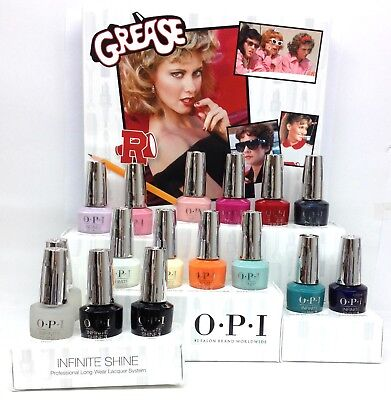 OPI Infinite Shine Nail Lacquer GREASE Collection - Choose Any Color 0.5oz