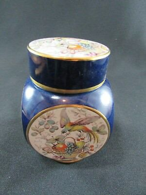 Carlton Ware Four Sided Lidded Vase c.1960s