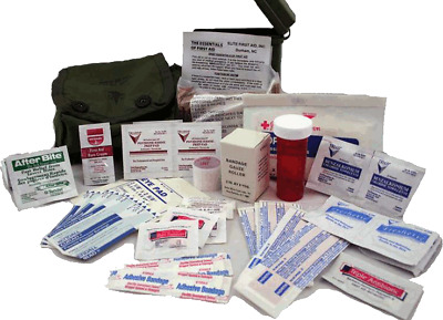 Soldiers Individual First Aid Kit Ifak Trauma Combat