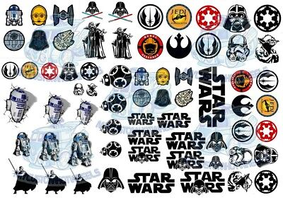 Star Wars Decals - The Jedi Pack | Waterslide Decals in all Popular Model Scales