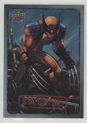 2015 Upper Deck Marvel Dossier Foil #7 Wolverine Non-Sports Card 0a3