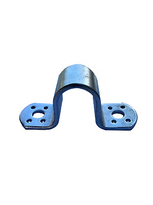 20NB Gate Saddle to suit Timber & Steel - Blue Zinc Farm Fencing Post