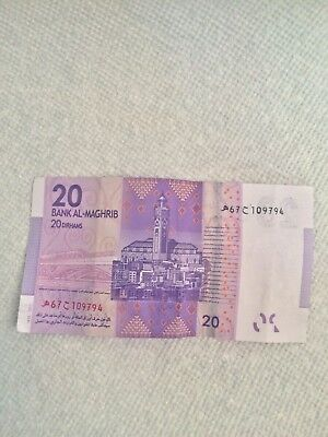 20 MAD Moroccan Dirhams Left Over holiday Money 2012