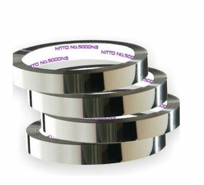 Car-Chrome Styling Tape Decoration Line Moulding Trim DIY Adhesive 20mm x 3m_nV