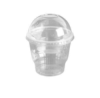 12oz Clear Plastic Dessert Cups with 4oz Parfait Insert & Lids,... 2DAY DELIVERY