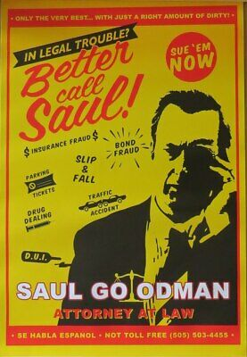 Breaking Bad (Better Call Saul!)- Poster-Laminated available-91cm x 61cm-Bran...